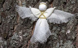 Создаем куклу-ангелочка