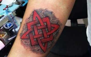 Татуировка Звезда Руси или Квадрат Сварога – значение символа, кому подходит