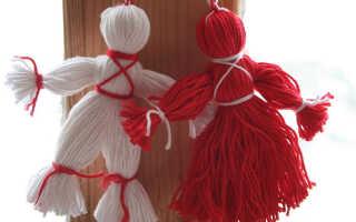 Кукла из ниток — как сделать традиционный оберег
