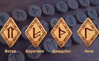 Славянские рунические знаки счастья и успеха: как использовать обереги