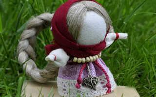 Куклы-обереги на счастье — значение, мастер-класс
