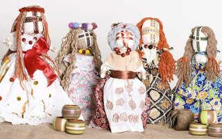 Изготовление куклы Мотанки своими руками