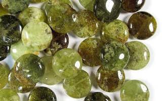 Магические и лечебные свойства зеленого граната