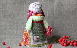 Как сделать обережную куклу Рябинку