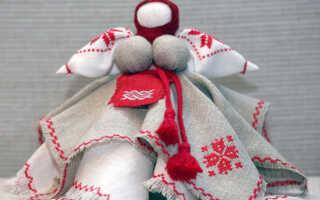 Вепсская кукла Капустка — оберег своими руками