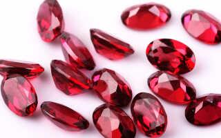 Камень гранат — магические свойства для Весов