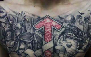 Славянские рунические тату – их значение и действие на жизнь человека