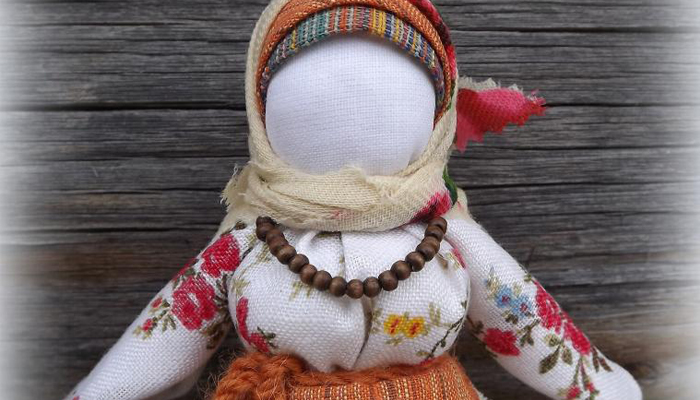 Кукла талисман Рябинка