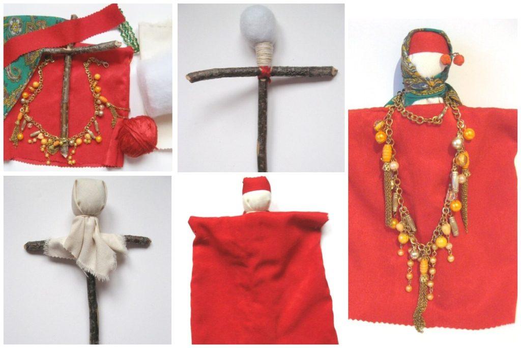 Изготовление Рябинке на кресте