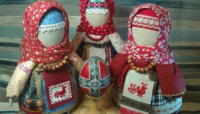 Удмуртские куколки талисманы