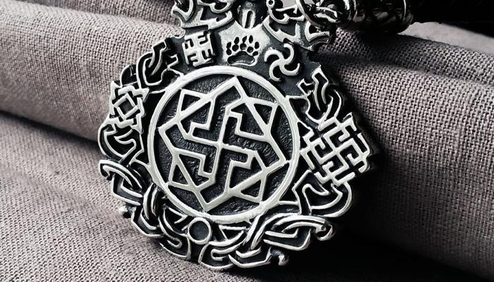 Амулет с символом Валькирия
