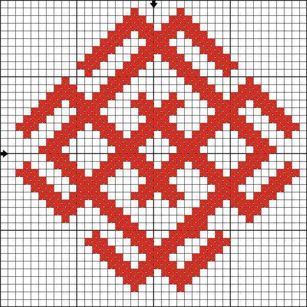Схема для вышивания Белобог