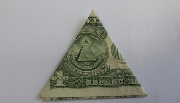 Однодолларовая купюра талисман