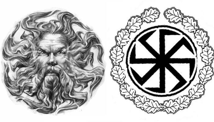 Эскизы славянских татуировок