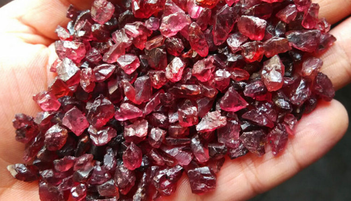 Гранат минерал