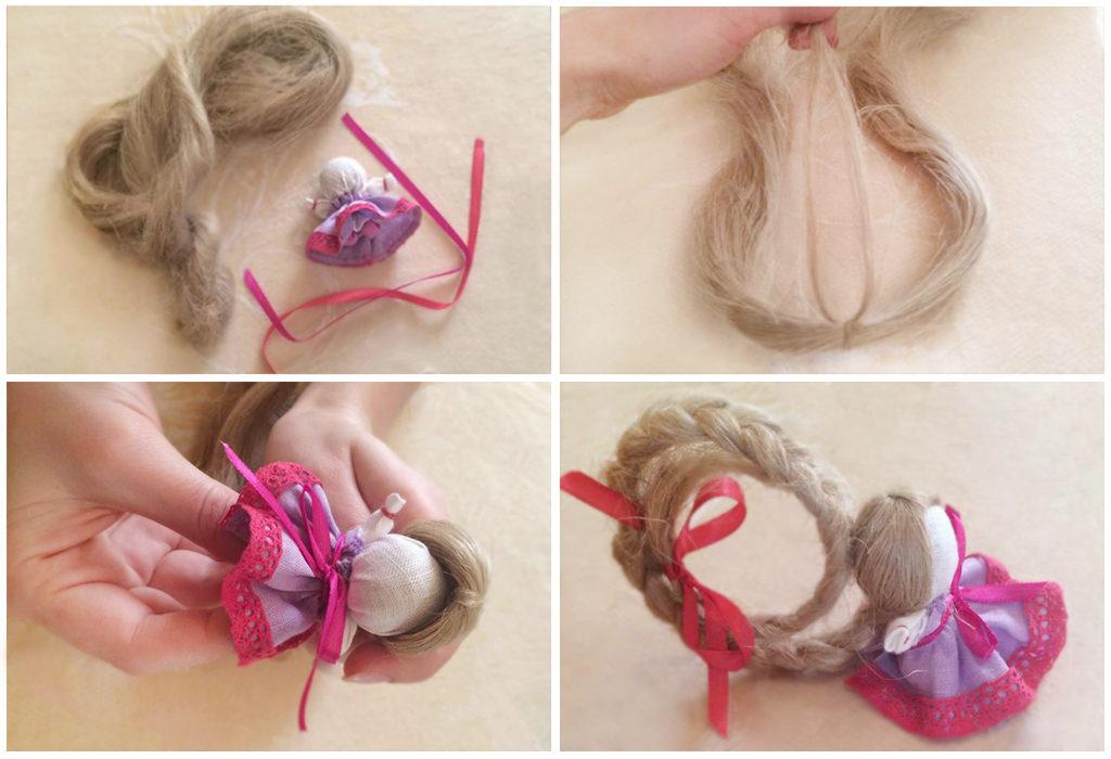 Волосы куклы Счастье