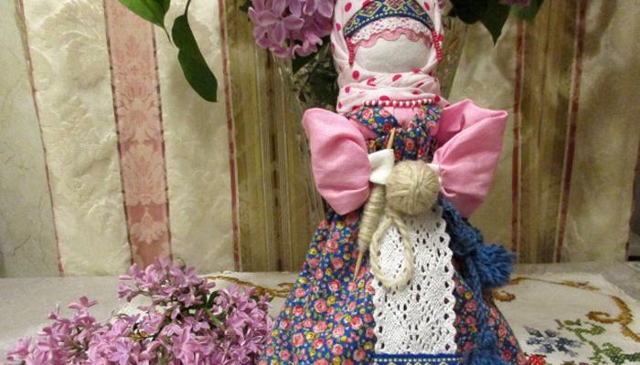 Создание куклы Макошь-Веретенницы