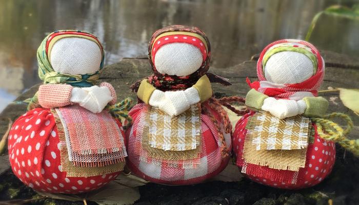 Кукла-талисман Благополучница