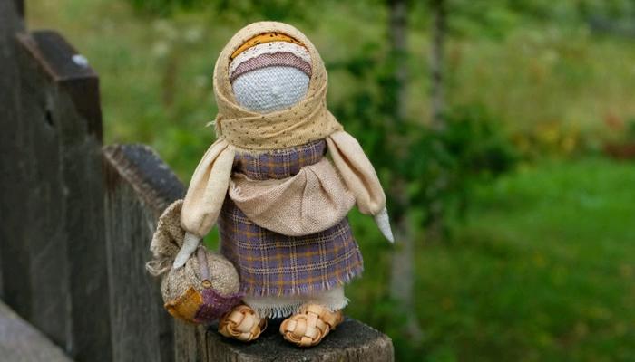 Кукла талисман Подорожница