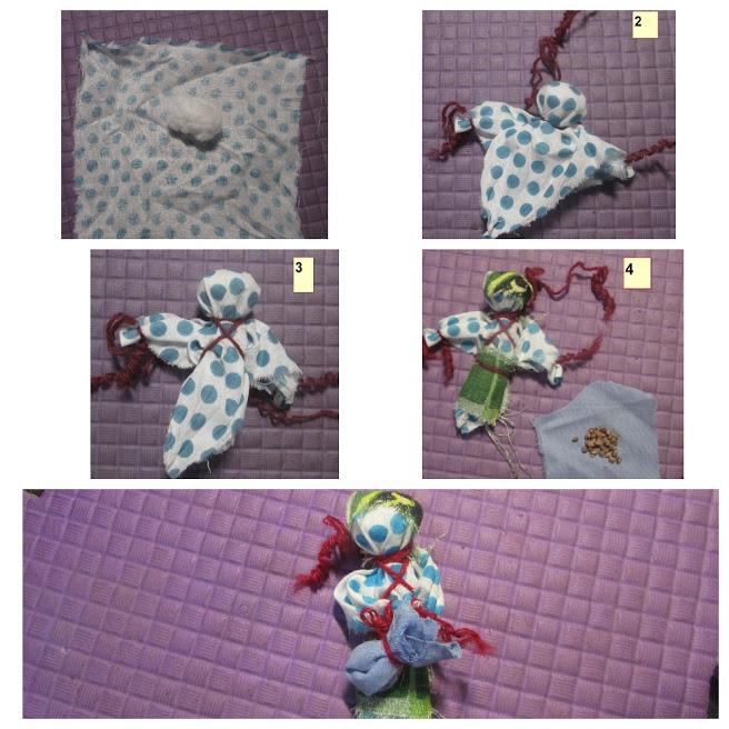 Создании куклы оберег Подорожница