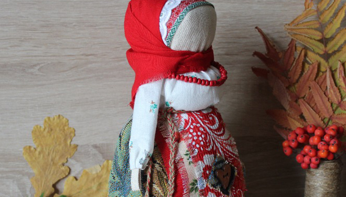Кукла оберег Рябинка
