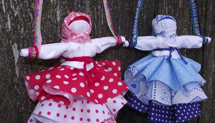 Куклы талисманы Колокольчик