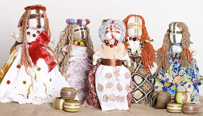 Обережные куклы-мотанки