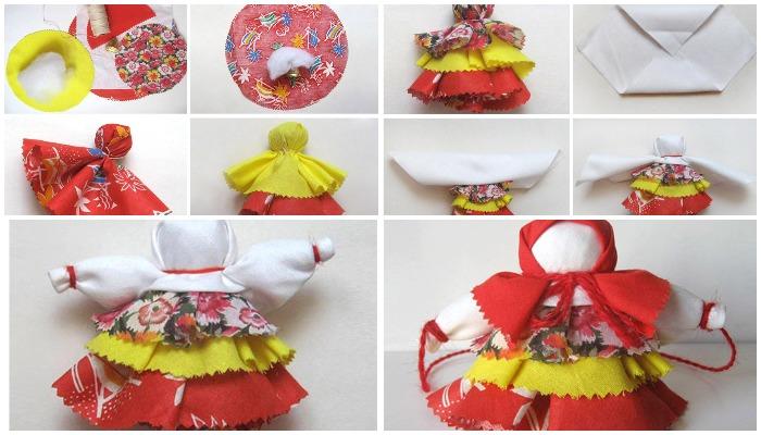 Пошаговое создание куклы Колокольчик