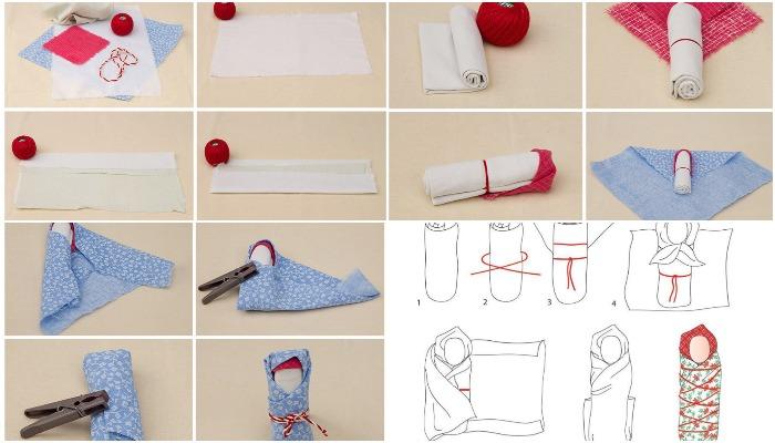 Пошаговое создание куклы Пеленашки