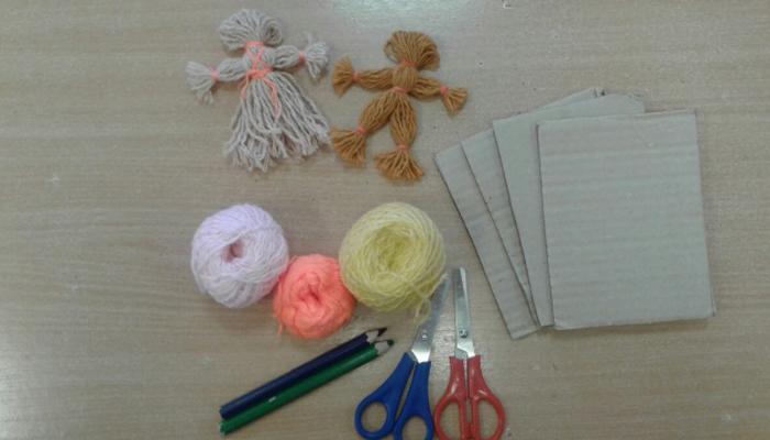 Материал для изготовления мотанки из ниток