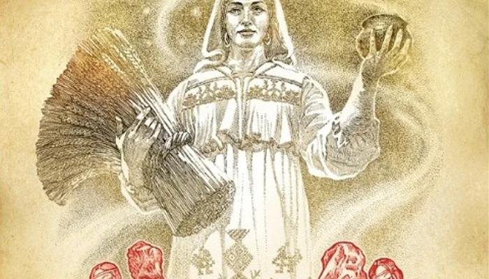 Богиня Макоша в полный рост