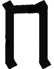 Рунический знак Перуна в прямом положении