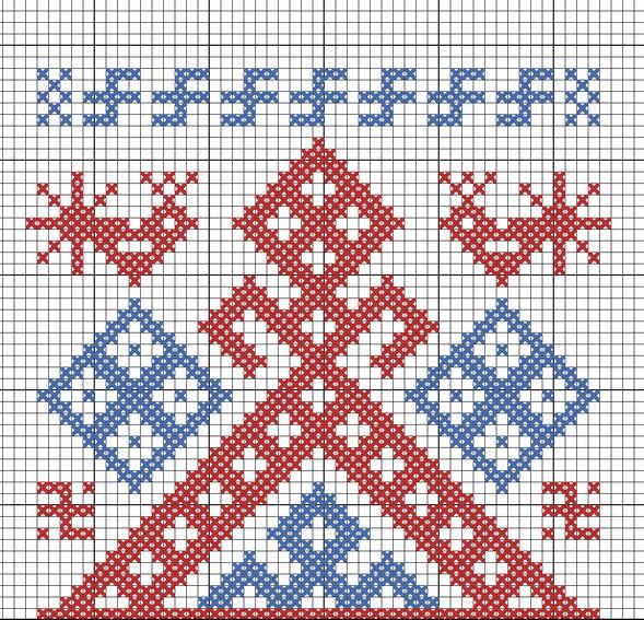 Схема для вышивания Рожаница