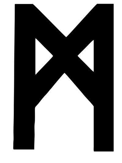 Рунический знак Манназ