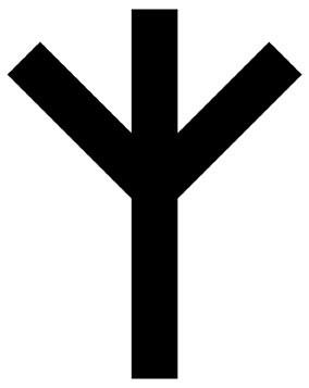 Рунический знак Мир