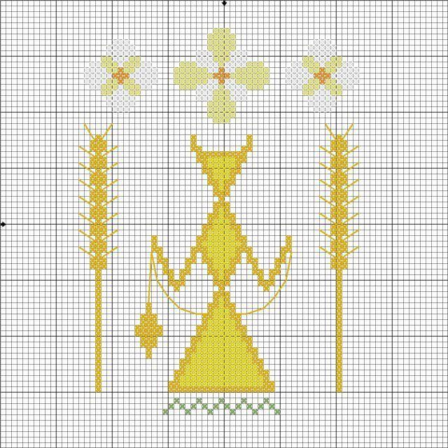 Схема для вышивания Макошь