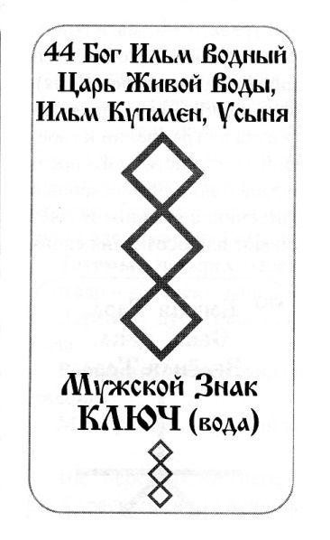 Знак ключ