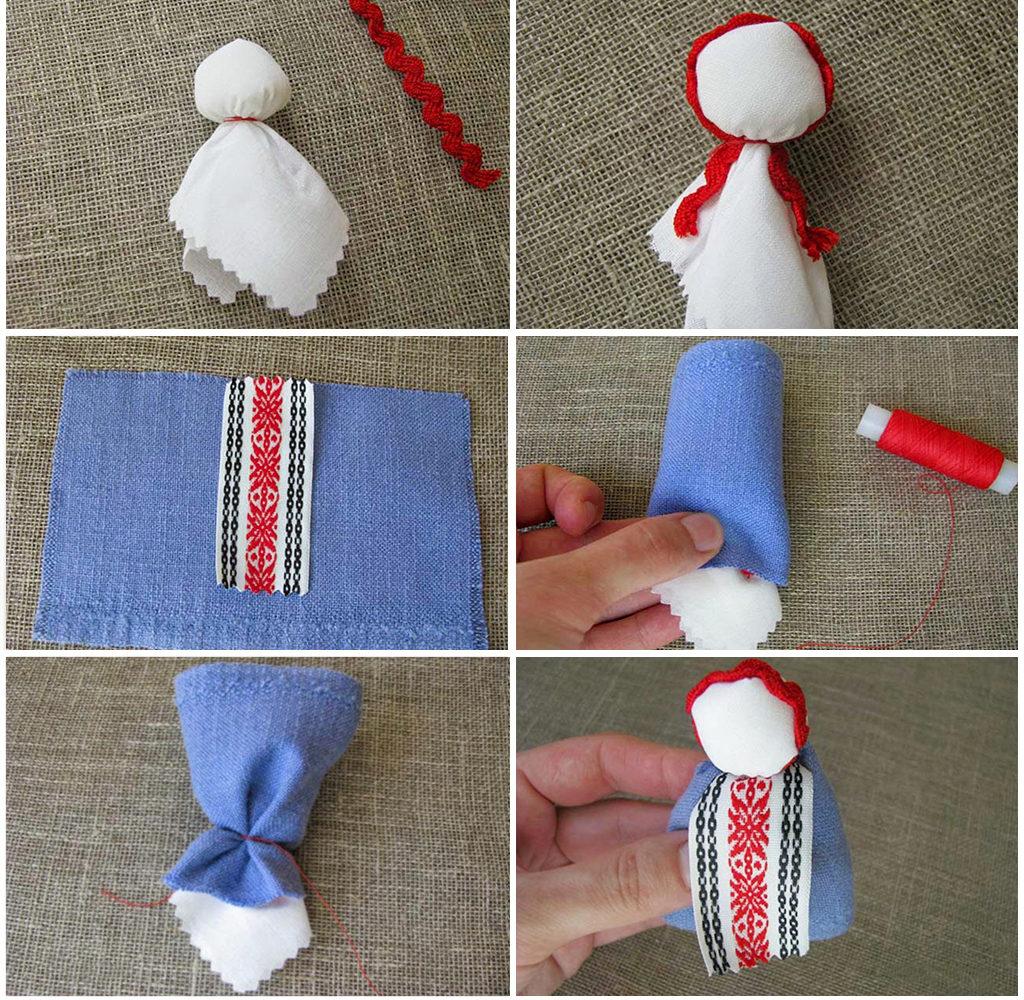 Формирование образа куклы Подорожница