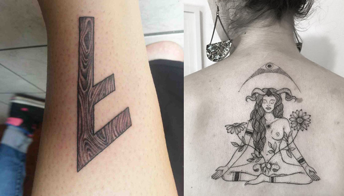 Татуировка Берегини