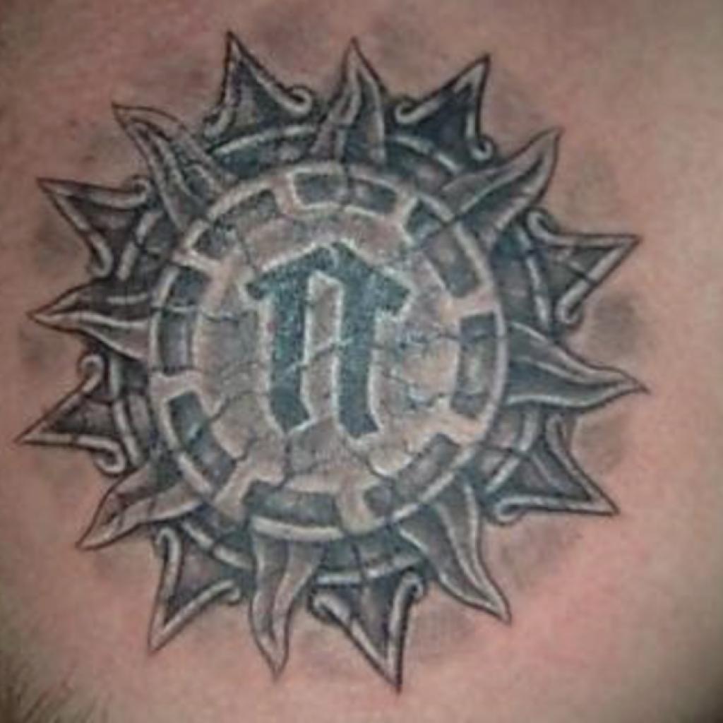 Татуировка руны Ветер