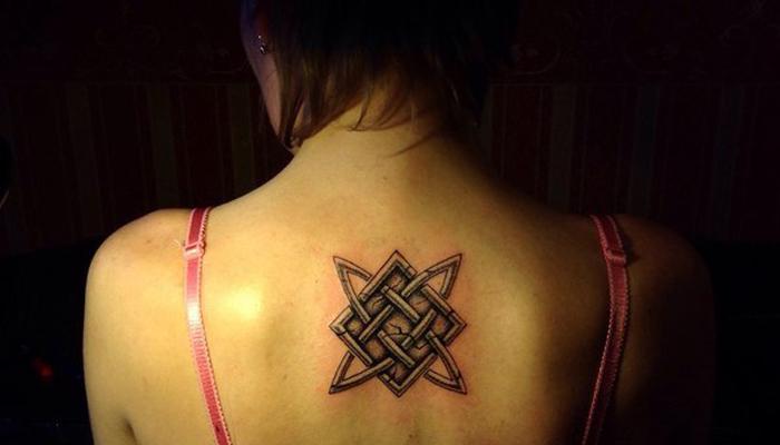Татуировка Звезда Лады-Богородицы