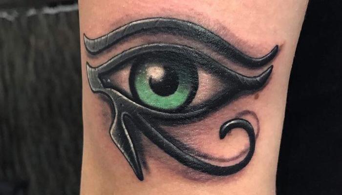 Татуировка Глаз Гора