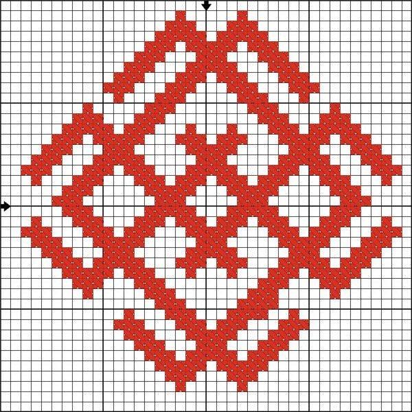 Схемы для вышивания Белобог