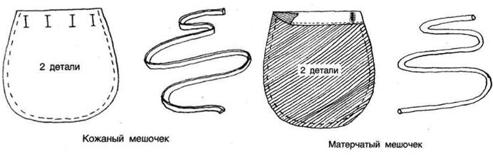 Мешочки для хранения рун
