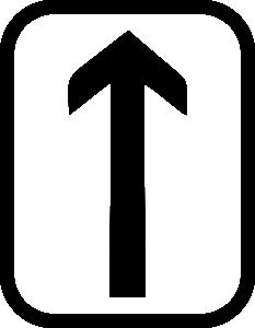 Руна Тейваз в прямом положении