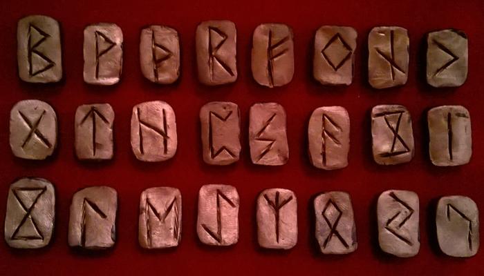 Рунические символы скандинавии