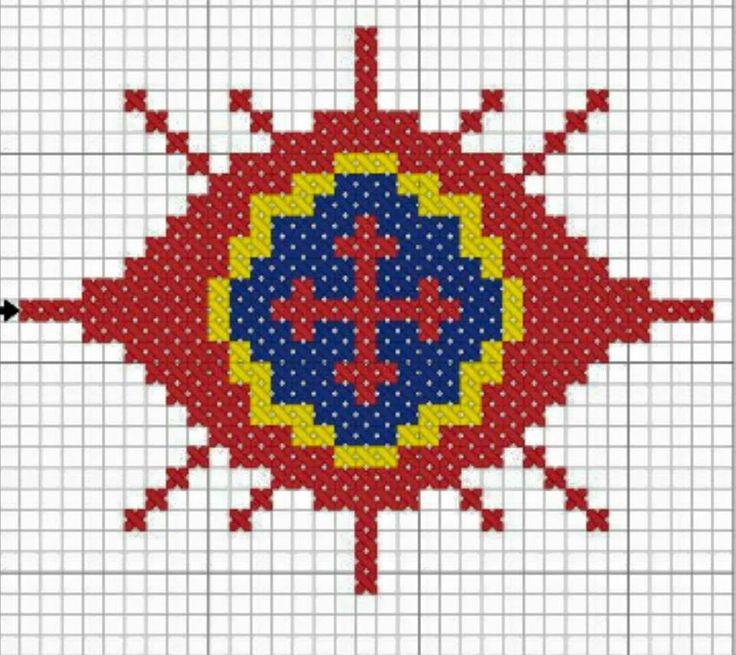 Схемы для вышивания Огнеглаза