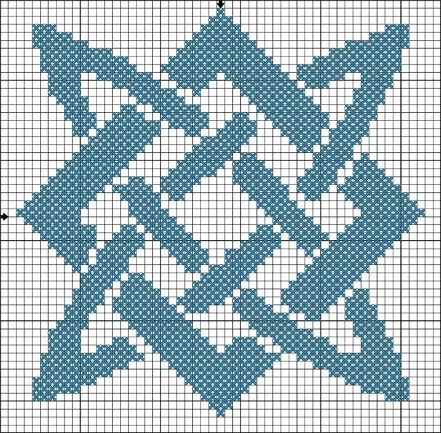 Схемы для вышивания Сварга