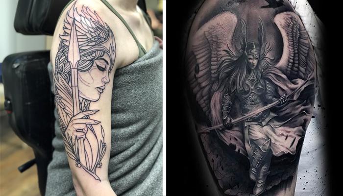 Татуировки Валькирии