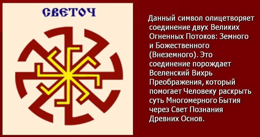 Значение символа Световит